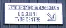 Discount Tyre Centre Sign